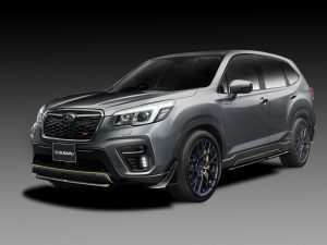 83 A Subaru Forester Sti 2020 Spy Shoot