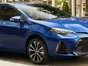 83 All New 2019 New Toyota Corolla New Model and Performance