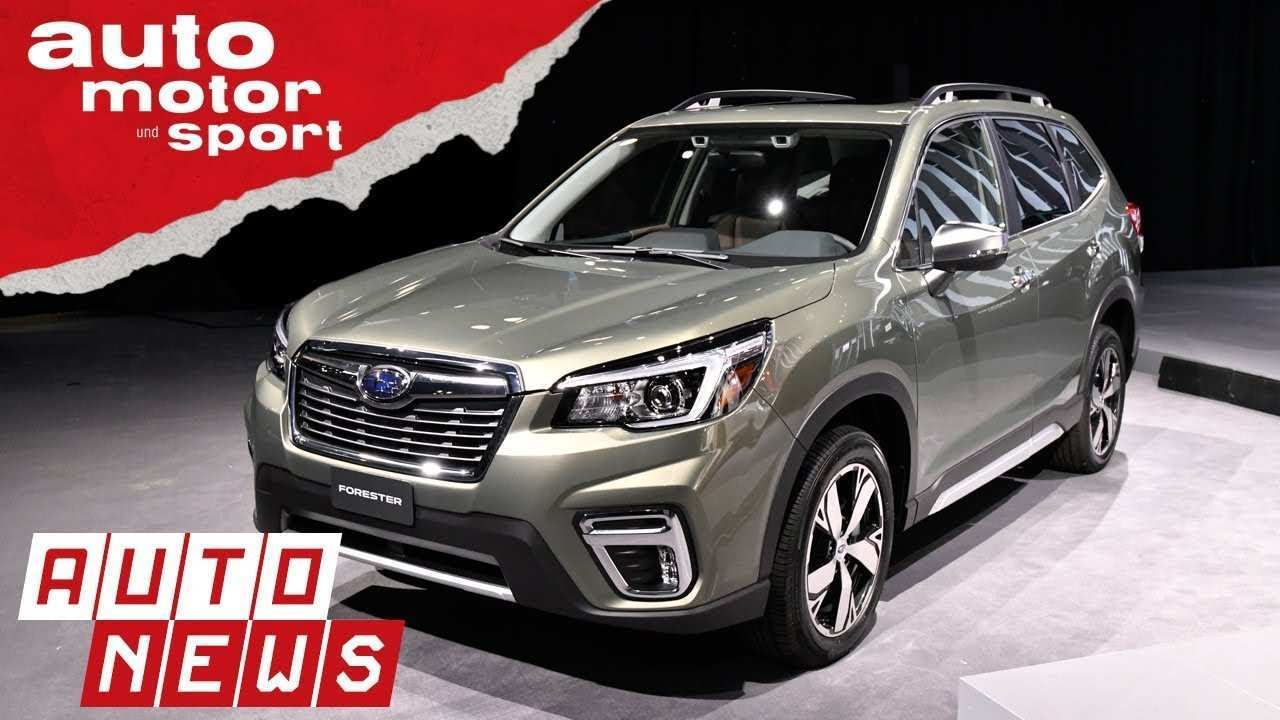 83 All New Subaru Forester 2019 News Release