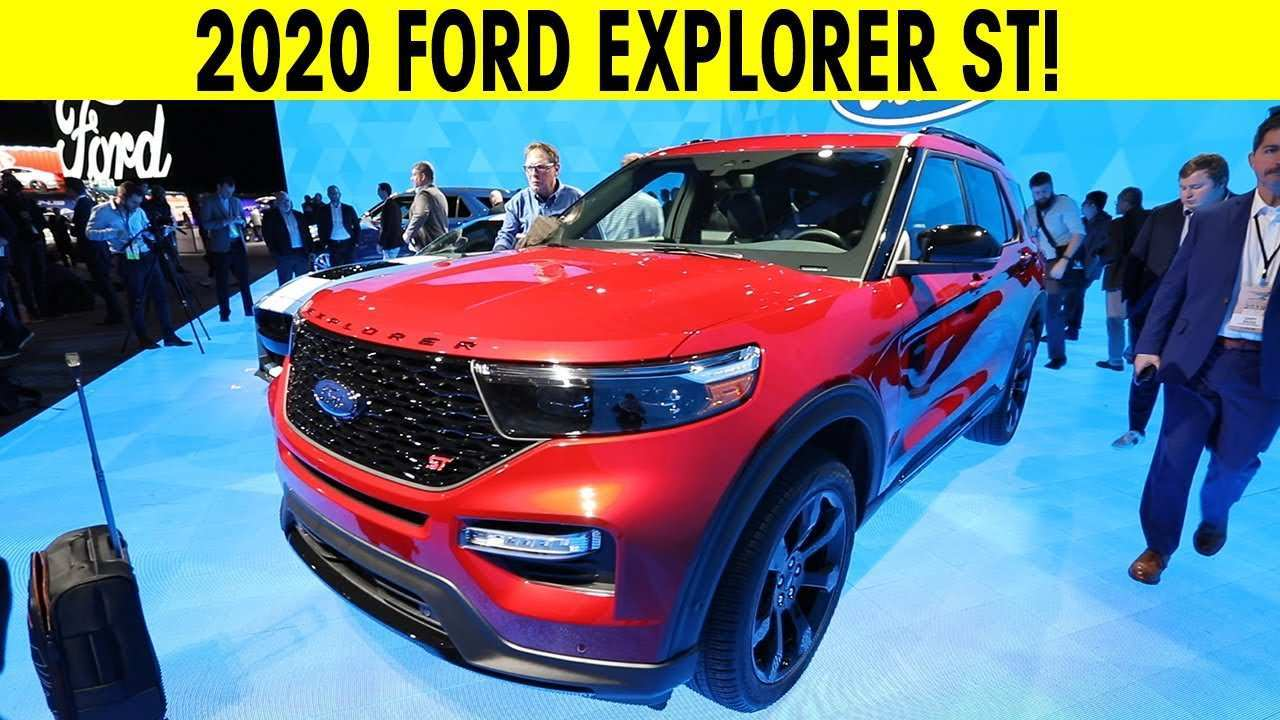 83 New 2020 Ford Explorer Youtube Concept