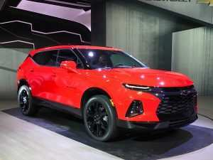 83 The 2019 Chevrolet Blazer Release Date New Concept