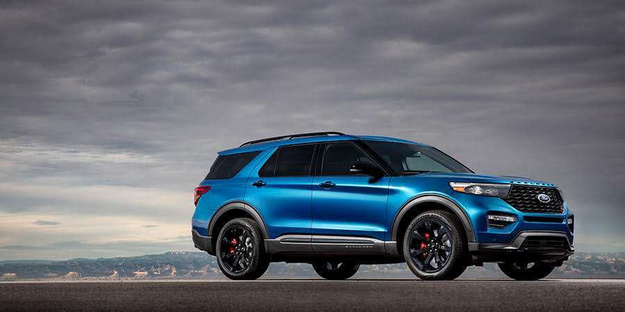 83 The 2020 Ford Explorer Job 1 First Drive