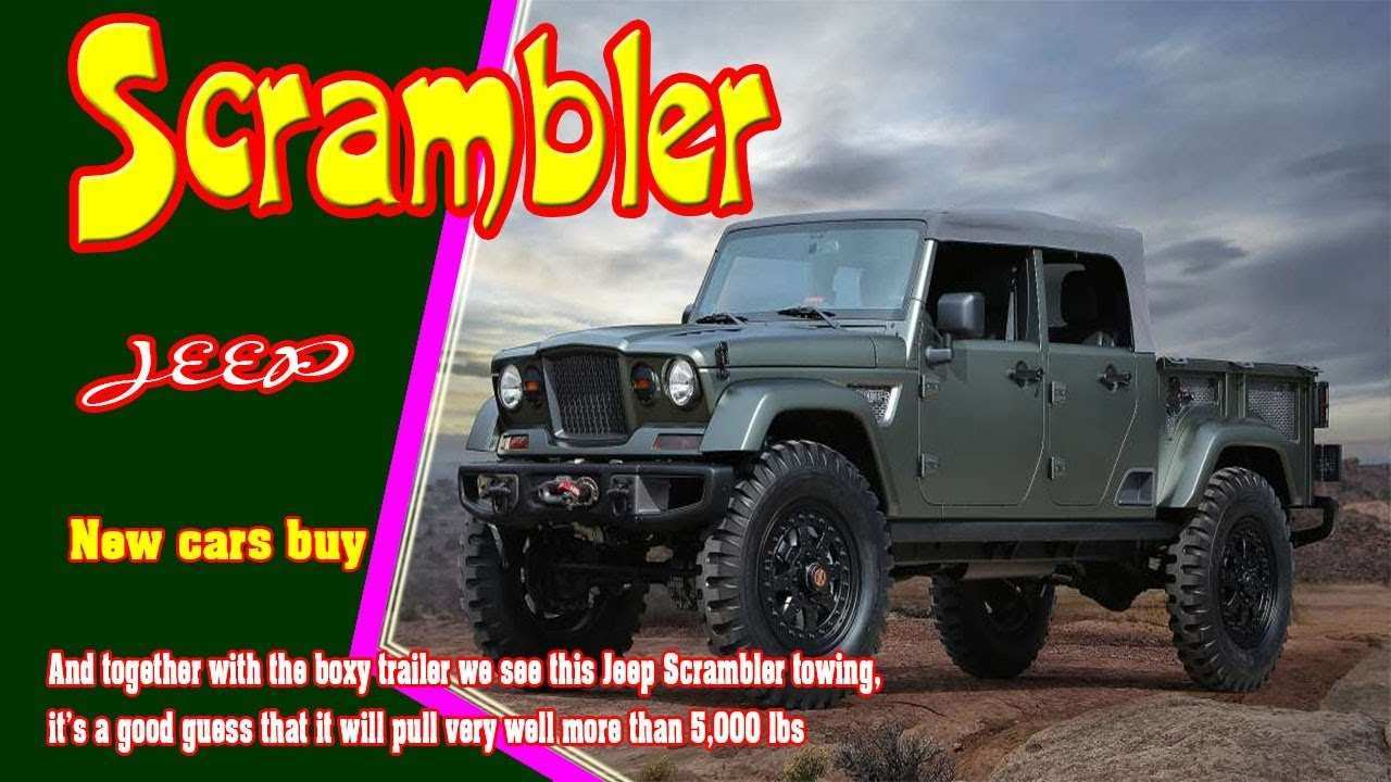 83 The Best 2019 Jeep Scrambler Cost First Drive