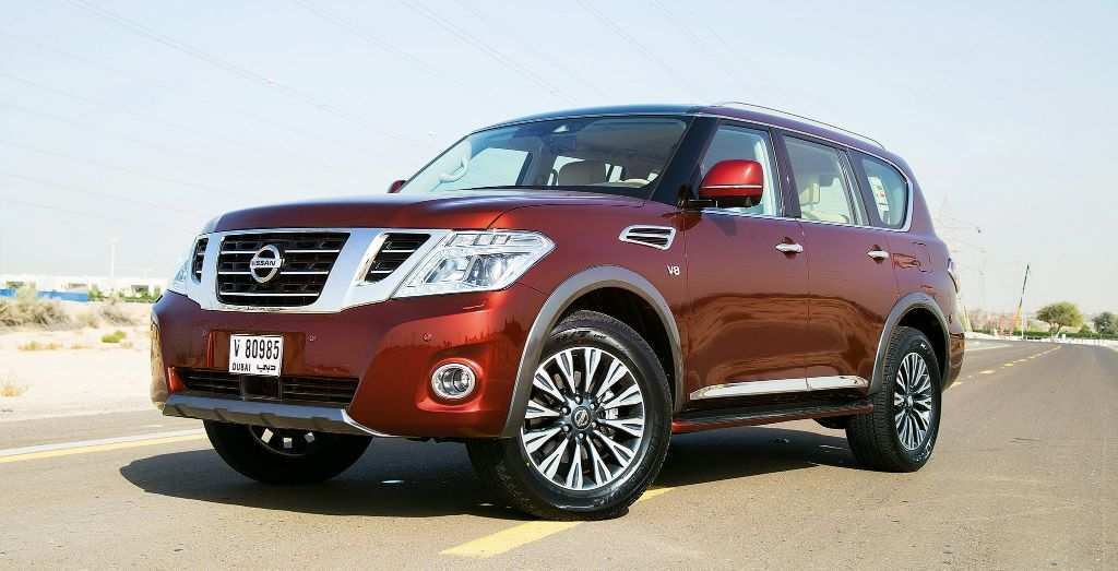 83 The Best New Nissan Patrol 2019 Release Date And Concept