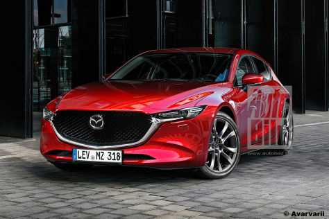 83 The Mazda 6 2020 6 Zylinder Redesign