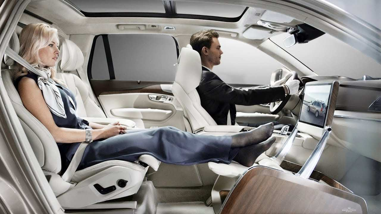 83 The Volvo Xc90 2019 Interior Images