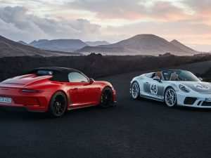 84 All New 2020 Porsche Speedster Release Date and Concept