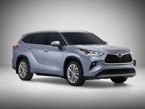 84 All New Toyota Highlander Hybrid 2020 Pictures
