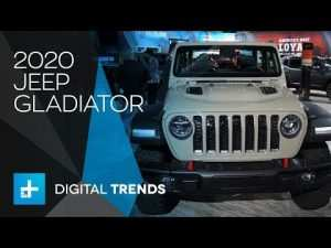 84 The Best 2020 Jeep Gladiator Youtube Price Design and Review