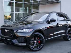 84 The Jaguar 2019 F Pace Release