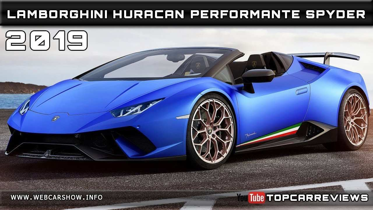 85 Best 2019 Lamborghini Performante Performance
