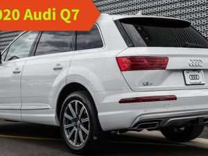 85 Best Audi New Q7 2020 Redesign and Concept