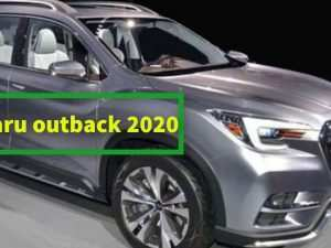 Subaru Outback New Model 2020