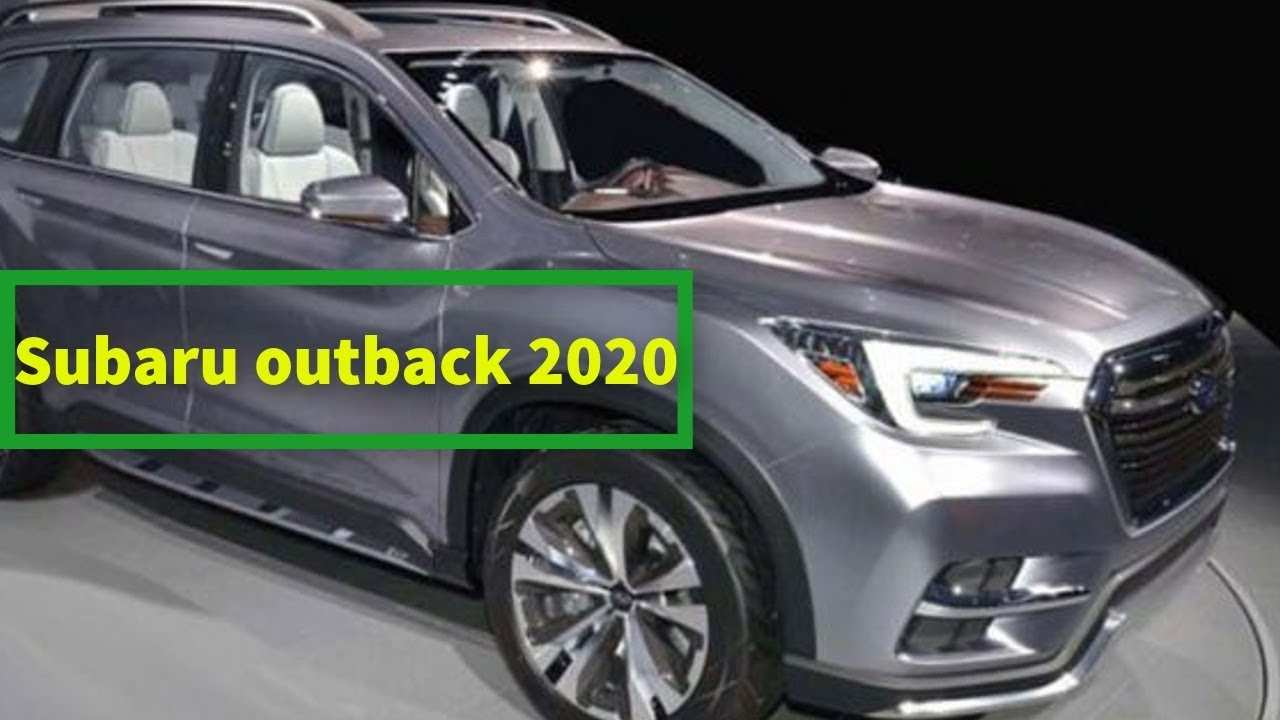 85 Best Subaru Outback New Model 2020 Redesign and Concept