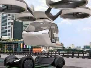 Toyota Flying Car 2020