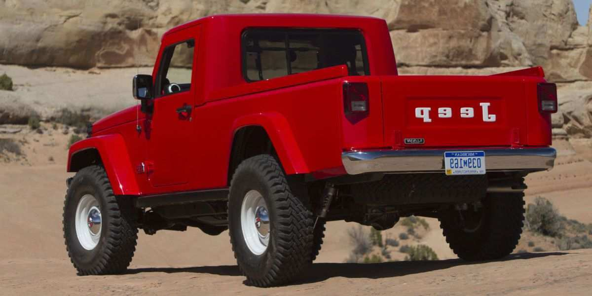 85 New 2019 Jeep Pickup Prices