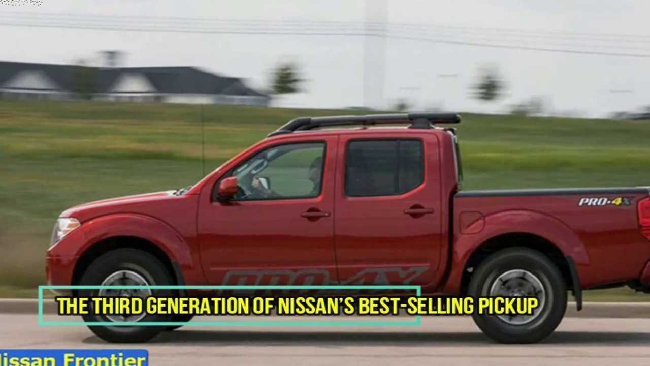 85 The Best 2020 Nissan Frontier Youtube Release Date And Concept