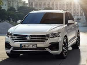 86 All New Touareg Vw 2019 Concept