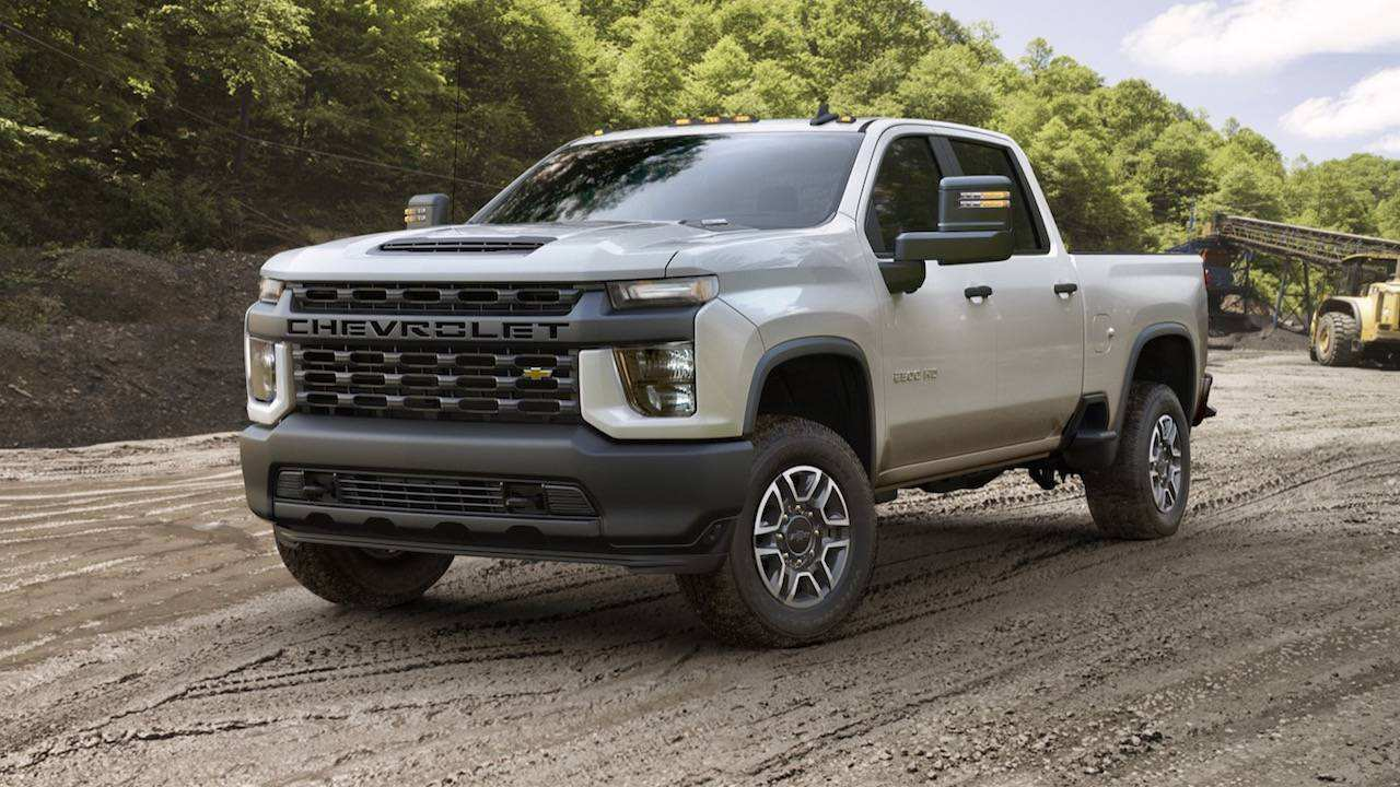 86 New 2020 Chevrolet Hd Pickup Spy Shoot