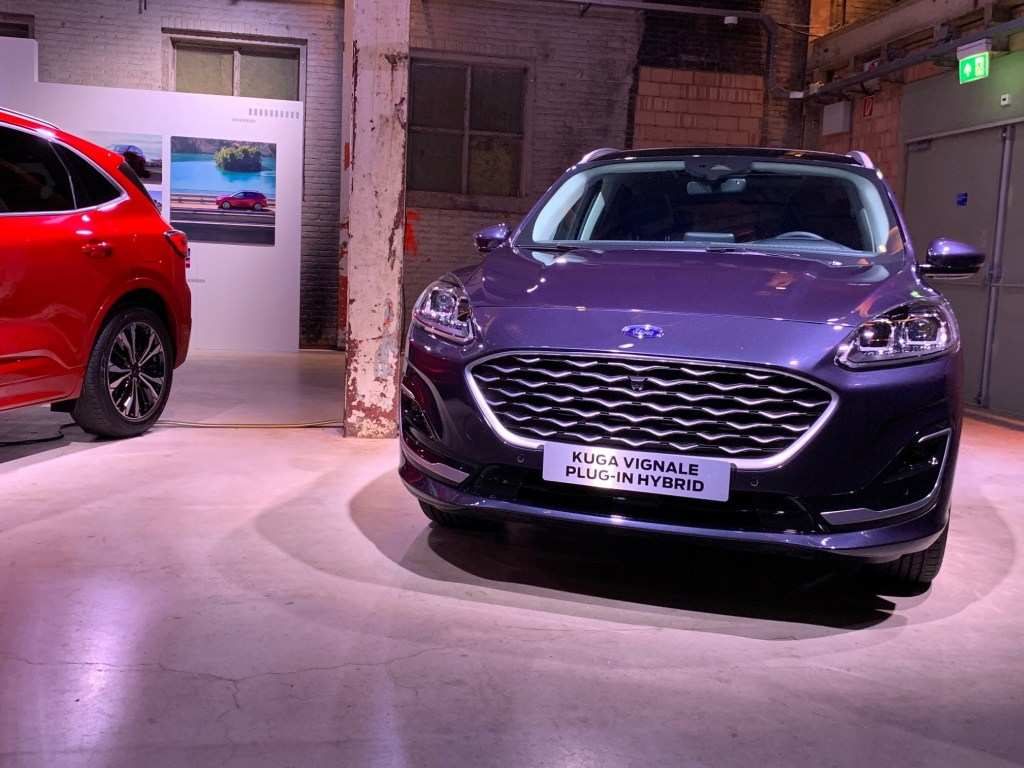 86 New Ford Kuga New 2020 Interior