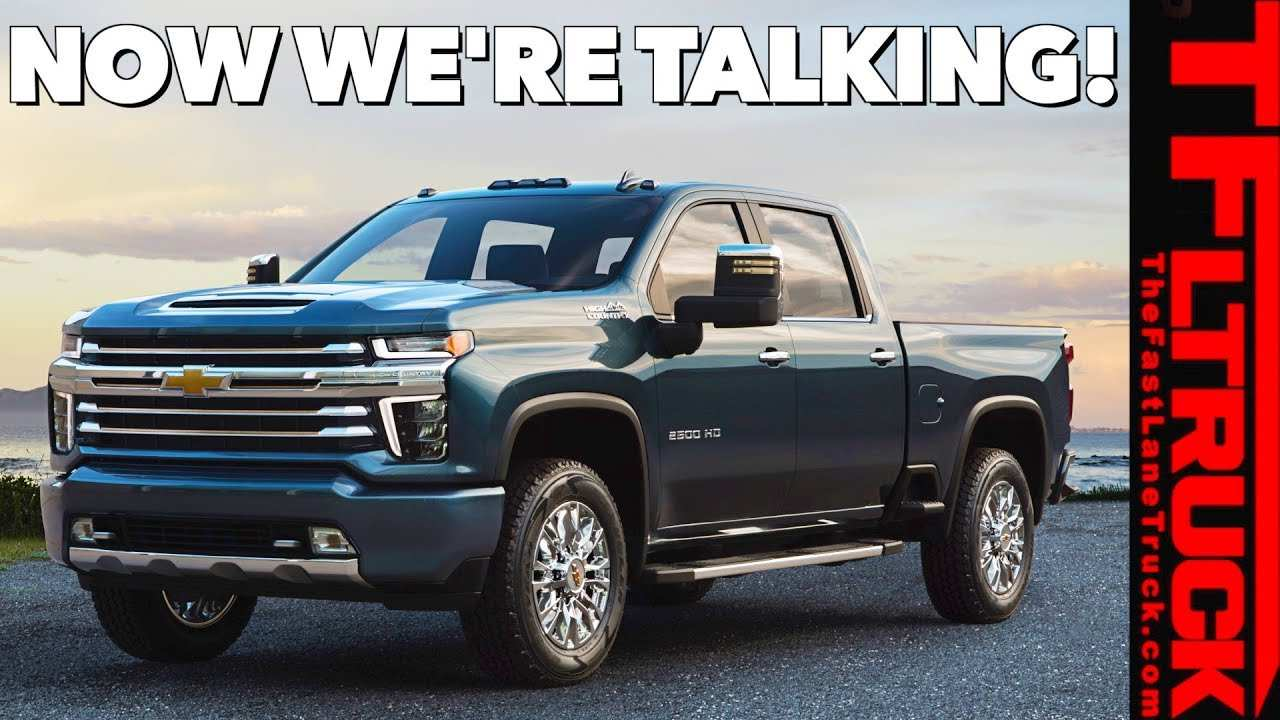 86 The 2020 Chevrolet Hd Pickup Redesign