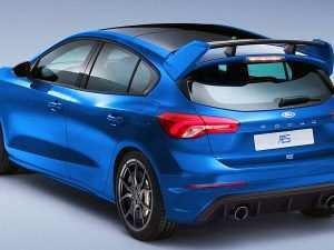 86 The Ford Focus Rs 2020 First Drive