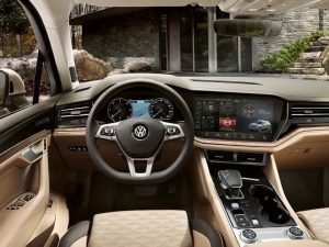 86 The Vw Touareg 2019 Interior Model
