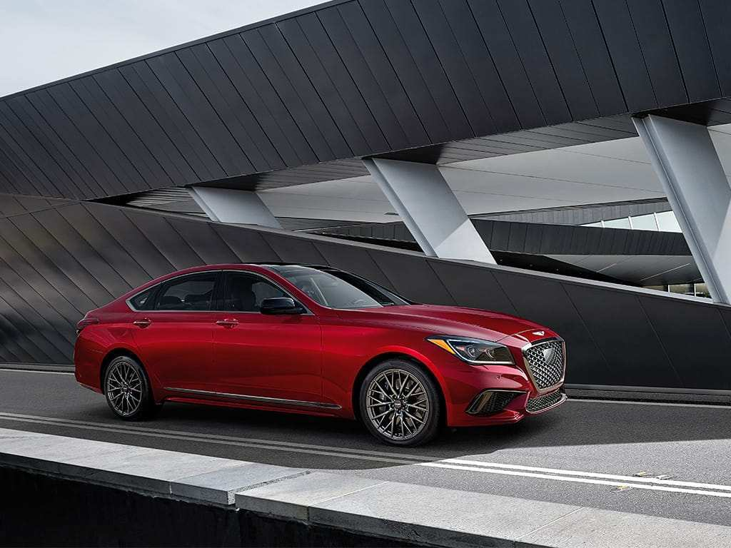 87 A 2019 Genesis G80 Coupe Engine