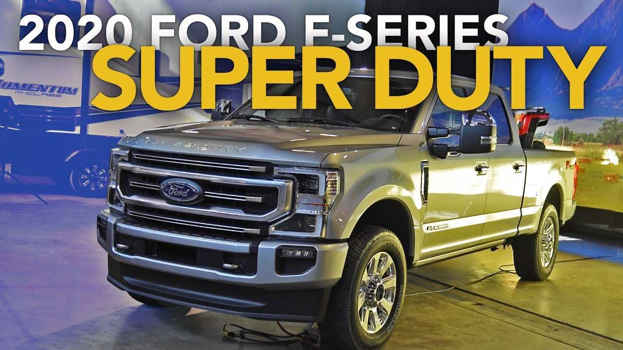 87 A 2020 Ford Super Duty Youtube First Drive