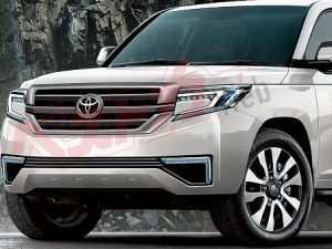 87 A 2020 Toyota Land Cruiser 200 Pictures