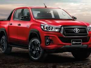 87 All New 2019 Toyota Hilux Facelift First Drive