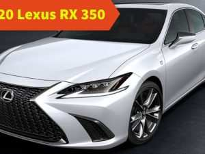 87 All New Lexus Rx 350 Redesign 2020 Spy Shoot