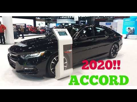 87 The 2020 Honda Accord Sport Release Date and Concept