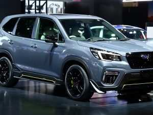 87 The Subaru Forester Sti 2020 Spy Shoot
