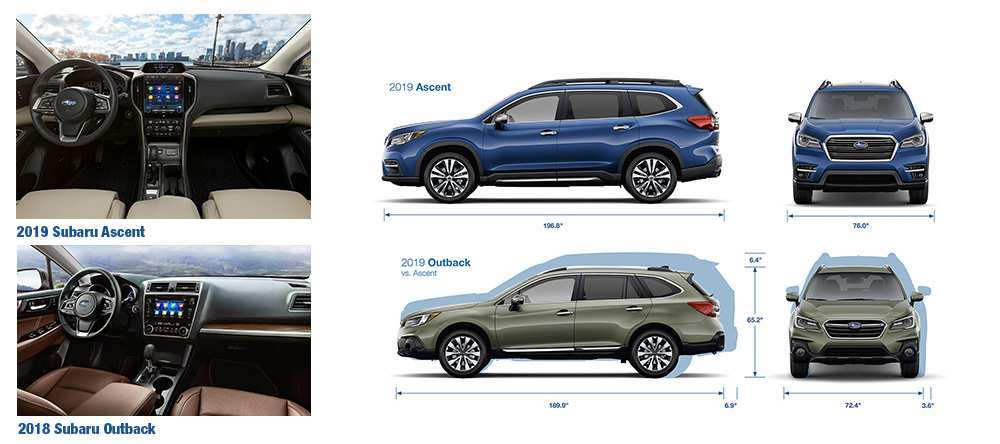 89 A 2019 Subaru Ascent Dimensions Redesign And Review