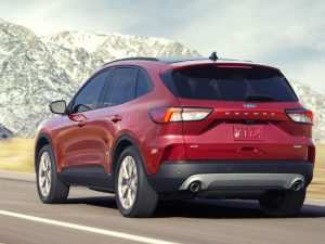 89 A 2020 Ford Escape Price Design and Review