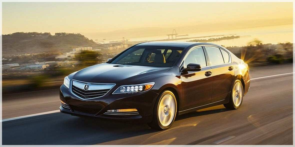89 All New 2020 Acura Rlx Release Date Prices