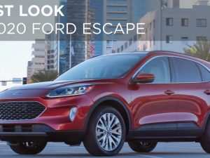 89 The 2020 Ford Escape Jalopnik Pictures
