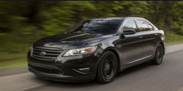 89 The 2020 Ford Taurus Exterior