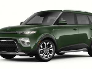 89 The 2020 Kia Soul Undercover Green Picture