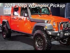 89 The Best 2019 Jeep Truck Pictures Review and Release date