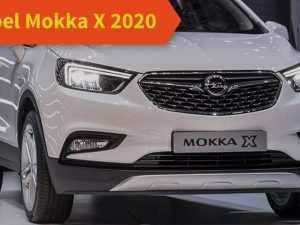89 The Futur Opel Mokka 2020 Exterior and Interior