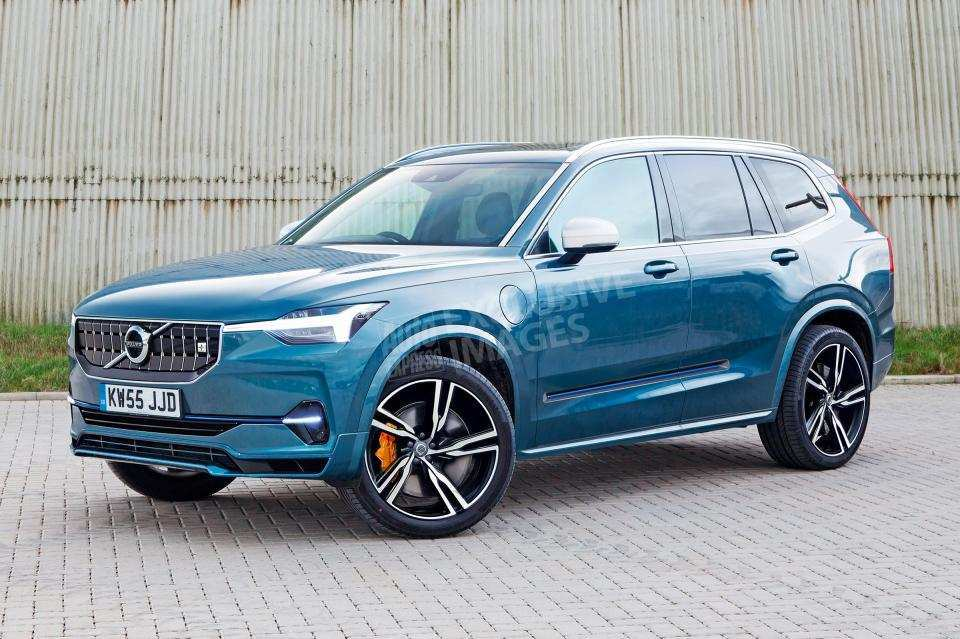90 A Volvo Xc90 Model Year 2020 Speed Test