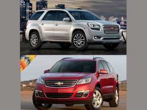 90 Best 2020 Gmc Acadia Vs Chevy Traverse Wallpaper