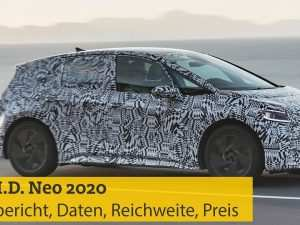 90 New Volkswagen Id Neo 2020 Review and Release date