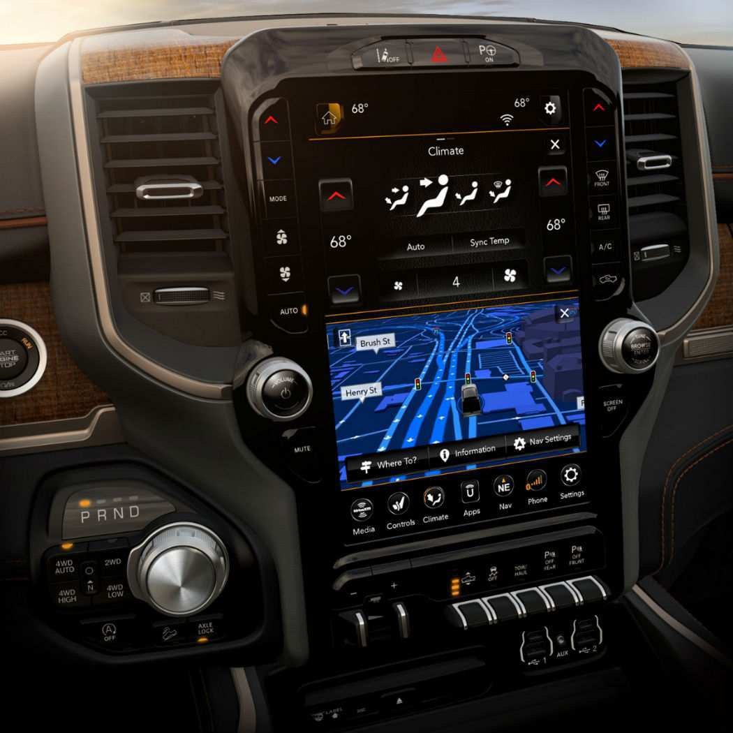 90 The 2019 Dodge Touch Screen New Review