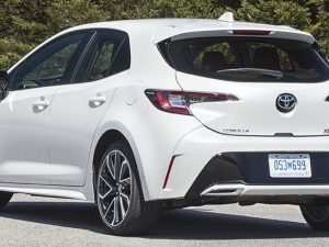 90 The 2019 Toyota Corolla Hatchback Review Engine