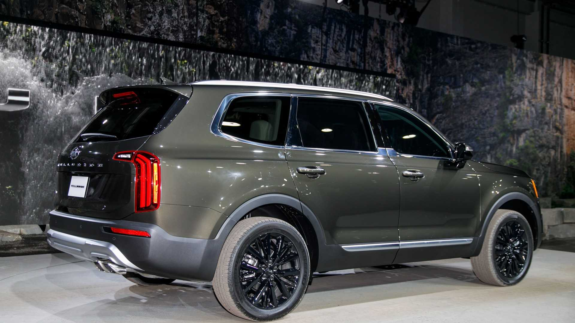 90 The Best 2020 Kia Telluride Black Copper Specs and Review
