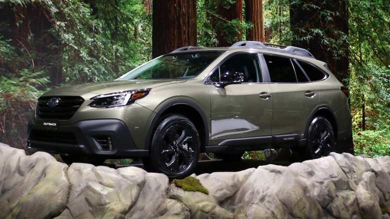 90 The Best 2020 Subaru Outback Mpg Spy Shoot