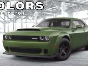 90 The Best New Dodge Colors For 2020 Exterior